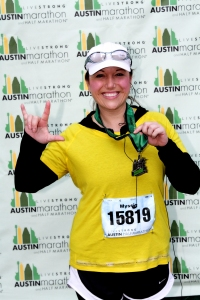 my first half marathon - LiveSTRONG