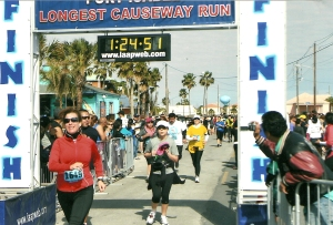 My first 10k - The Longest Causeway run