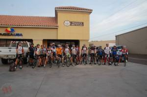 """25 cyclists vie for the 2013 """"Hell of the South"""" buckle at Wally's Bike Shop"""
