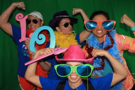 Some of the RGV CAP board being a little silly after our first 5k success!!!