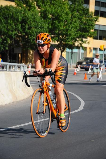 TRIROCK austin triathlon Myssie Cardenas-Barajas Felt Bicycle Mimi's Miles