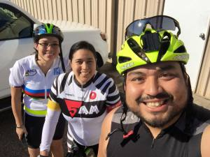 First ride of the year for us was all about catching up to the group. Fun ride - Eric Jimenez