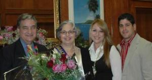 Dad, Momma, me and hubby at the Greater McAllen Association of Realtors (GMAR) Realtor of the Year awards
