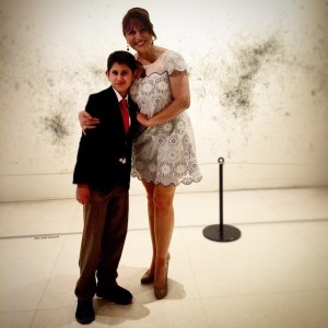 My son and I at the very first Little Heroes Prom held by the Leukemia and Lymphoma Society in the Rio Grande Valley at IMAS.