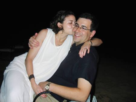 Sheryl Sandberg  and her late husband, Dave Goldberg.