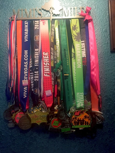 Some runners measure their success in time, others in distance... mine was in keeping a promise.