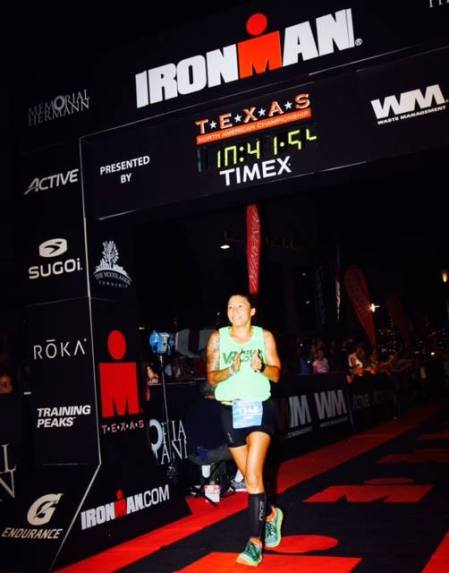 THAT'S MY COACH! LORI TIJERINA... and yes, that's her finishing time!!!