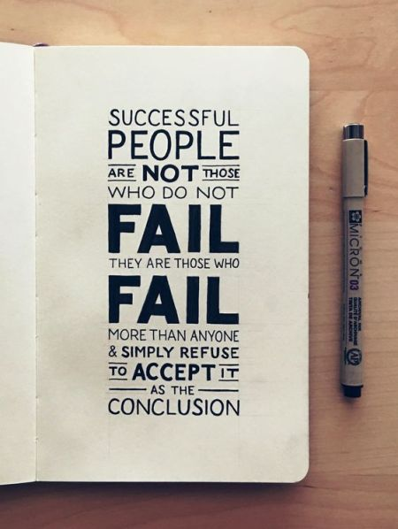 failure is not my conclusion